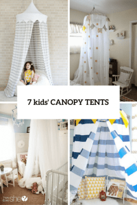 7 Easy And Cool DIY Kids Canopy Tents For Indoors ...