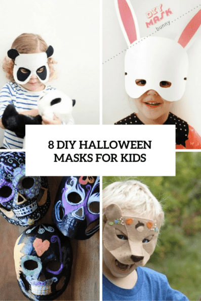 8 diy halloween masks cover