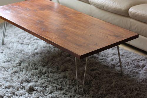 diy mid century modern coffee table