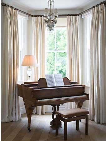 bay window curtain ideas for living room aico sets 50 cool decorating shelterness