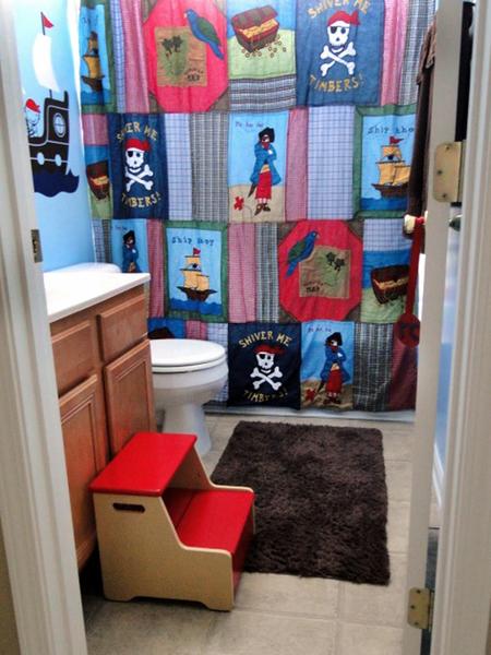 Girls Bathroom Decor