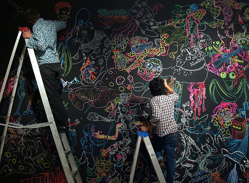 45 Ideas To Use Chalkboard Walls In Different Rooms  Shelterness