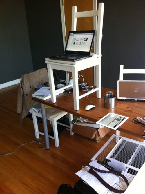 diy standing desks Archives  Shelterness