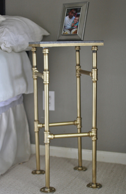 9 Chic And Easy DIY Industrial Nightstands Shelterness