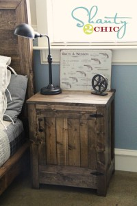 9 Chic And Easy DIY Industrial Nightstands - Shelterness