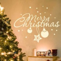 10 Christmas Decorating Ideas With Wall Stickers - Shelterness