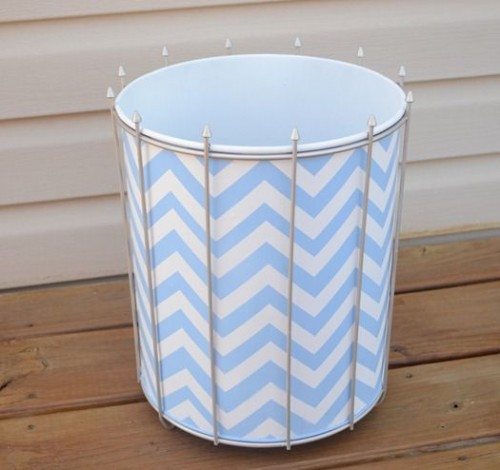 12 Cool DIY Trash Can Makeovers  Shelterness