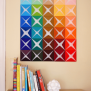 Cool Diy Wall Art Of Colored Paper Shelterness