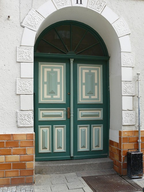 20 Cool Front Door Designs  Shelterness