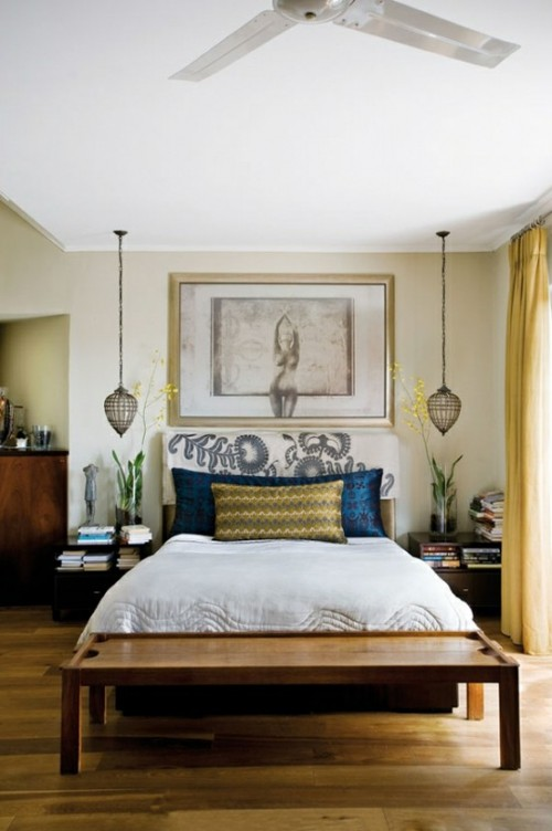 56 Cool Hanging Bedside Lamps Shelterness