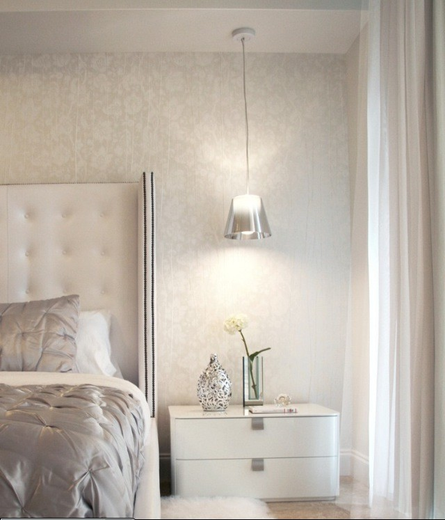 Picture Of Cool Hanging Bedside Lamps