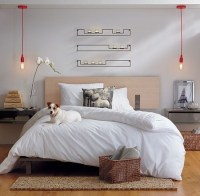 37 Cool Hanging Bedside Lamps - Shelterness