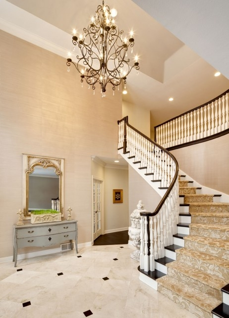 43 Cool Carpet Runners For Stairs To Make Your Life Safer | Carpet For Bedrooms And Stairs | Grey | Carpet Runner Ideas | Stair Railing | Rugs | Staircase Design