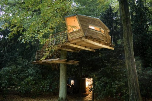 15 Very Cool Treehouse Designs  Shelterness