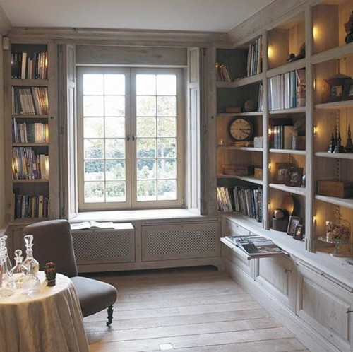 25 Cool Window Seats And Bookshelves Design Ideas  Shelterness