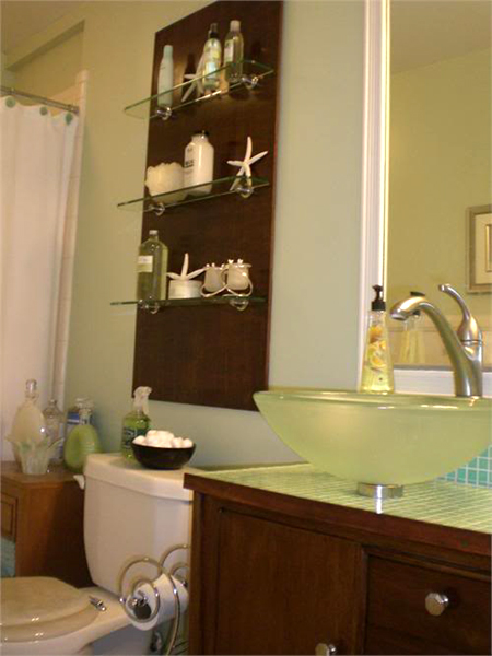 Tiny Bathroom Storage Ideas