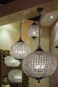 13 Ideas To Use Crystal Ball Chandeliers In Interior ...