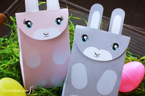 11 Cute DIY Easter Gift Wraps Boxes And Tags Shelterness