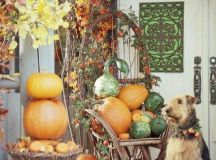 Picture Of Cute Fall Porch Decor Ideas