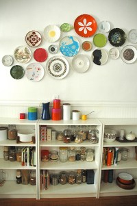 20 Ideas To Create Plates Wall Collage - Shelterness