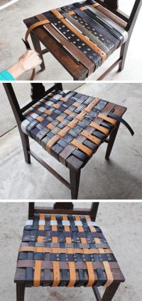 DIY Belt Chair Renovation - Shelterness