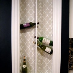 Kitchen Wine Rack Moen Faucet Parts Diy Built In Shelterness