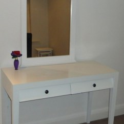 Desk Chair Ikea Suvs With Captain Chairs 9 Diy Dressing Table Makeovers You'll Like - Shelterness