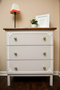 DIY IKEA Hack: Cute Tarva Dresser Makeover - Shelterness