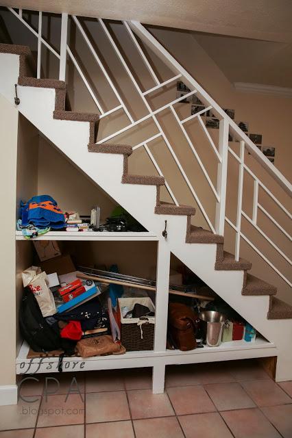 7 DIY Smart Stairs Storage Tutorials  Shelterness