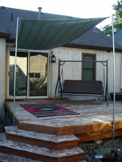 DIY Sun Shade For Your Patio Or Terrace  Shelterness