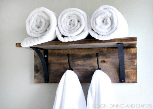 kitchen towel rack recycling center 12 diy hooks and hangers for every interior ...