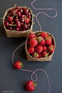 DIY Upcycled Grocery Bag Fruit Basket - Shelterness