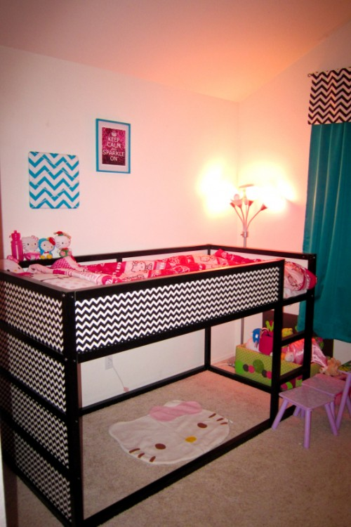 play kitchens for kids kitchen dishes sets 9 awesome diy ikea kura bed makeovers to excite your ...