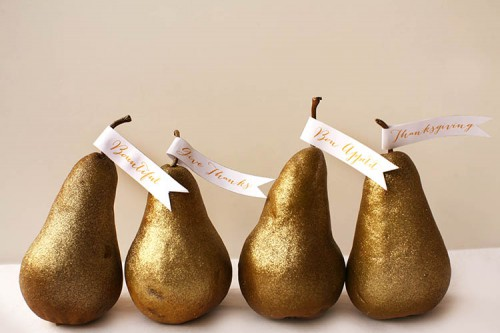 14 Gold Thanksgiving DIYs For Pretty Home Décor Shelterness