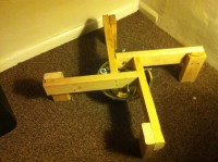 Picture Of Smple Christmas tree stand
