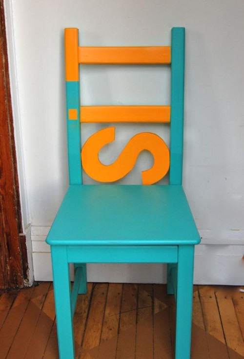antilop high chair swing wood 9 great ikea chairs and stools makeover ideas - shelterness