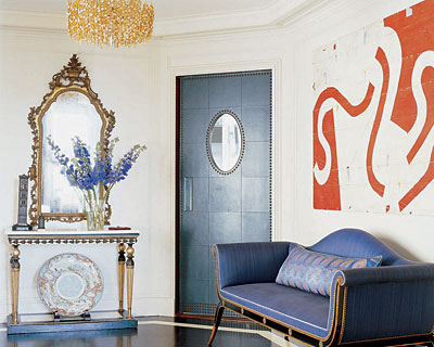 living room ideas for small apartments blue wall paint 55 cool hallway decor - shelterness
