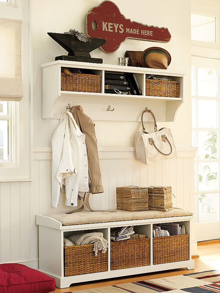Cute Shelf Wallpaper 67 Mudroom And Hallway Storage Ideas Shelterness