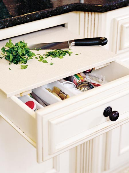 corner drawer kitchen cabinet sink 5 creative ideas to organize cutting board storage ...