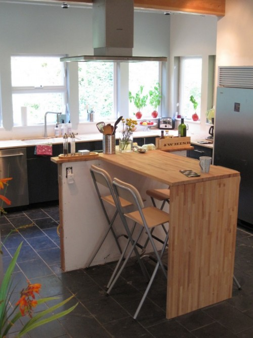 kitchen islands ikea boos island how to make a modern from countertop shelterness