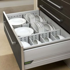 Slim Kitchen Trash Can Country Clocks 70 Practical Drawer Organization Ideas - Shelterness