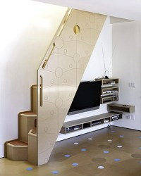15 Living Room Under Stairs Storage Ideas - Shelterness