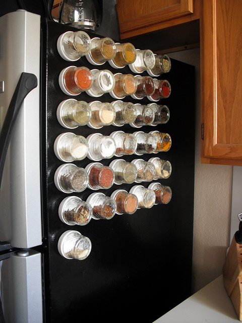 10 Magnetic Spice Storage Solutions  Shelterness