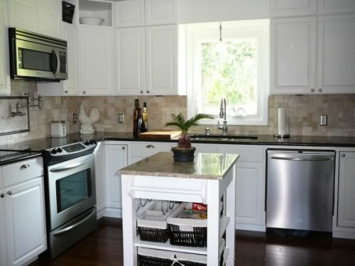 How Decorate Small Kitchen