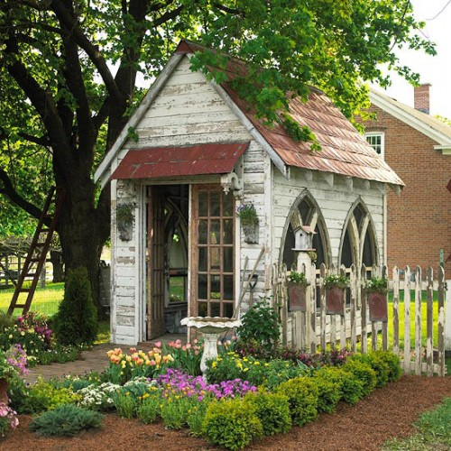 Potting Shed Ideas Archives Shelterness