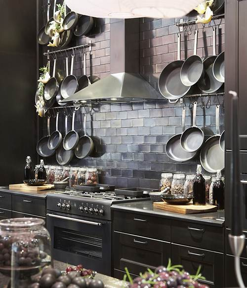 kitchen pots and pans aid pasta press 50 ideas to organize storage display shelterness displays