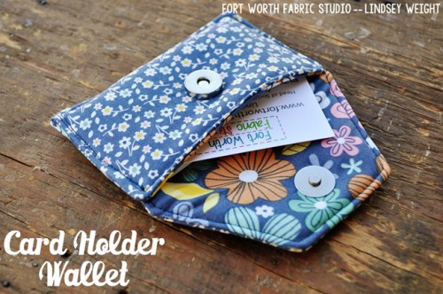 14 Practical DIY Credit And Business Card Holders