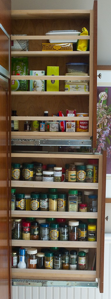 corner drawer kitchen cabinet shenandoah cabinets 10 pull-out spice storage solutions - shelterness