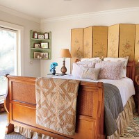 Picture Of Room Dividers As Headboards