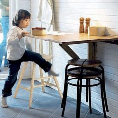 Small Table For Kitchen Decorative Chalkboard 4 Ways To Add Storage In Your Home Office Folding